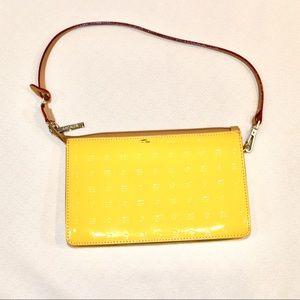 Arcadia yellow wristlet